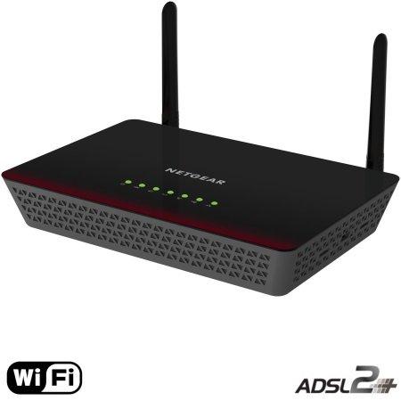 Netgear Modem Router ADSL2+ - D6000-100pes