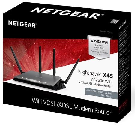 Netgear - Nighthawk Xs4 Ac2600 D7800-100pes