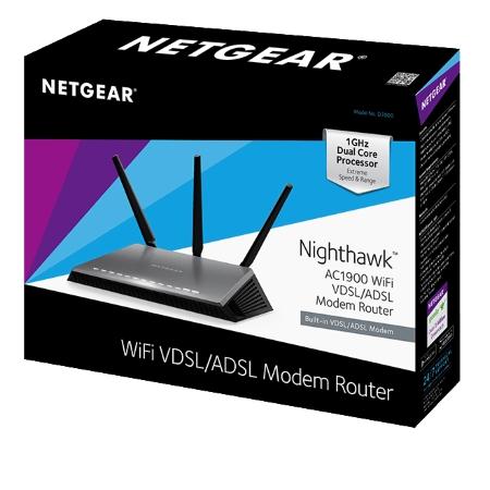 Netgear - D7000-100 AC1900 Nighthawk