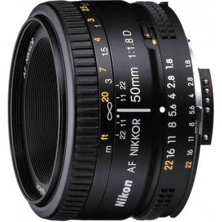 Nikon Lunghezza focale 50 mm - 50MM F/1.8D AF