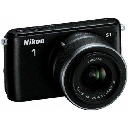 Nikon Fotocamera ibrida - 1s1 + 11-27.5mm Nero