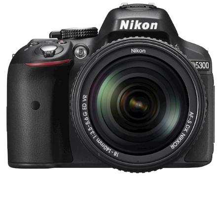Nikon Sensore CMOS da 24 Mpx - D5300 +AF-S DX 18-140mm ED VR