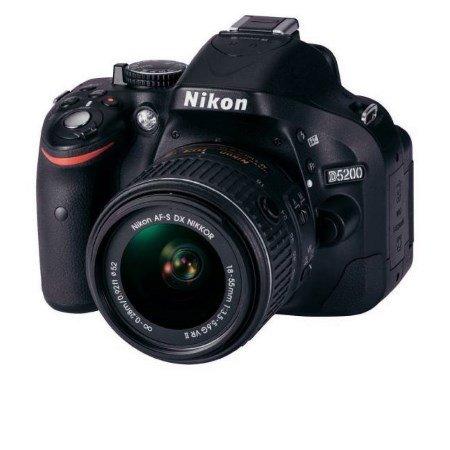 Nikon - D5200 +18-55VR II +SD 8GB