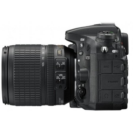 Nikon Kit con Fotocamera reflex D7200 - D7200 + 18-105 Vr