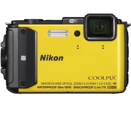 Nikon - Coolpix AW130 Yellow