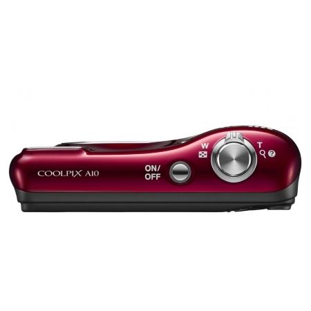 Nikon Sensore da 16 Mpx - Coolpix A10 Red