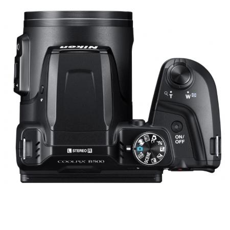 Nikon Sensore CMOS da 1/2,3 pollici, 16,76 Mpx - Coolpix B500 Black