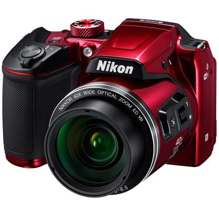 Nikon - Coolpix B500 Red