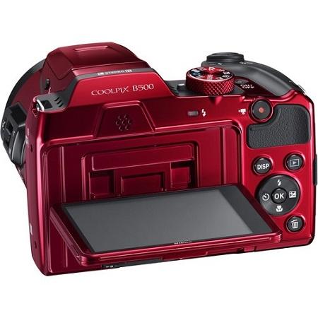 Nikon Sensore CMOS da 1/2,3 pollici, 16,76 Mpx - Coolpix B500 Red