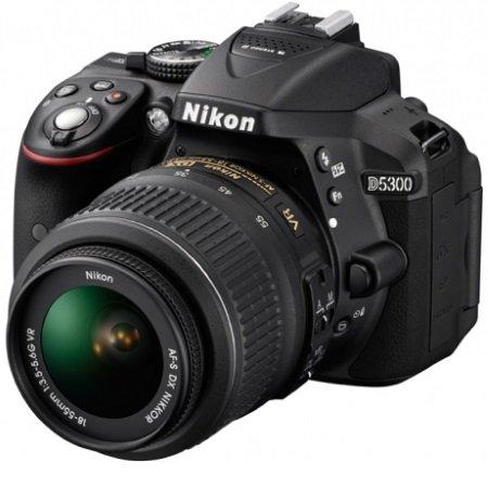 Nikon - D5300 +18-55 VR AF P