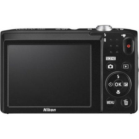 Nikon Fotocameracompatta - Coolpix A100  Rosso