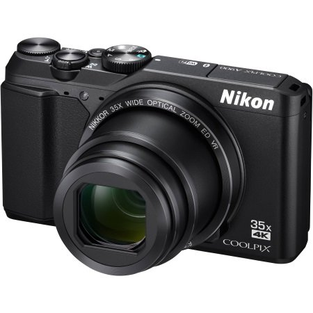 Nikon - Coolpix A900 Black