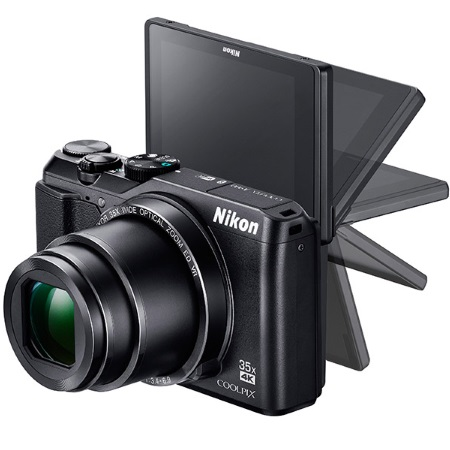 Nikon - Coolpix A900 Black