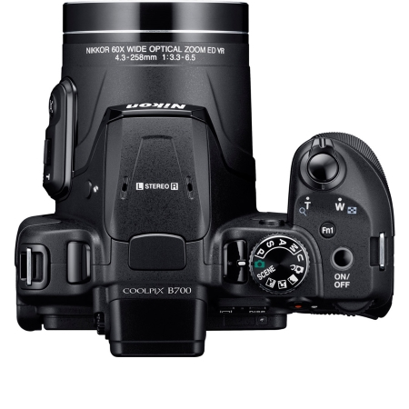 Nikon Sensore CMOS da 1/2,3 pollici, da 20,3 Mpx - Coolpix B700 Black