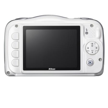 Nikon Fotocamera digitale compatta   impermeabile - W100 White