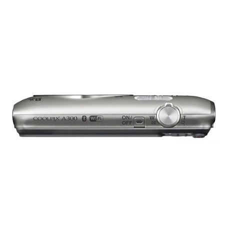 Nikon Sensore da 20.1 Mpx - COOLPIX A 300 Silver