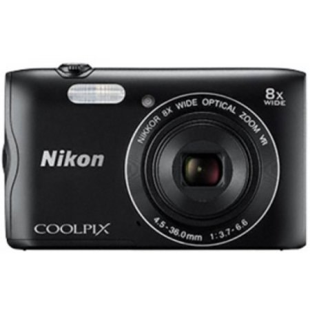 Nikon - Coolpix A300 Black