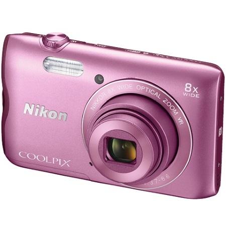 Nikon Sensore da 20.1 Mpx - COOLPIX A 300 Pink