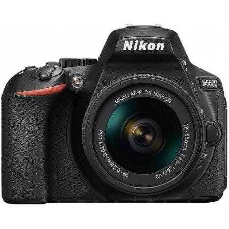 Nikon Fotocamera reflex - D5600 + Afp8-55 Vr + Afp70-300vr + Sd8gb
