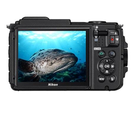 Nikon Fotocamera digitale compatta impermeabile - Coolpix AW130 Camouflage