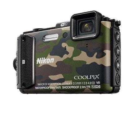 Nikon - Coolpix AW130 Camouflage