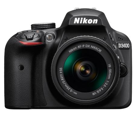Nikon - D3400+18-55 AF-P DX