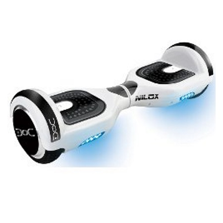Nilox - Doc 2 Hoverboard White 6,5