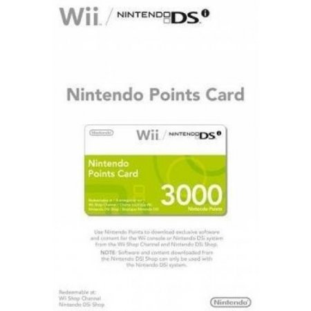 Nintendo - Points Card 3000 1050249