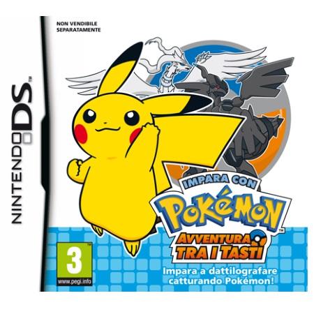 Nintendo Gioco Impara con Pokémon: avventura tra i tasti - Impara Con Pokemon - DS e 3DS