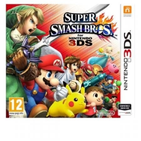 NINTENDO - SUPER SMASH BROS 3DS