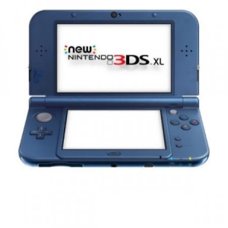 NINTENDO - NEW 3DS XL BLU METALLICO