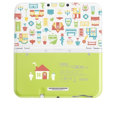 Nintendo - New 3DS XL+Animal Crossing Happy Home Designer
