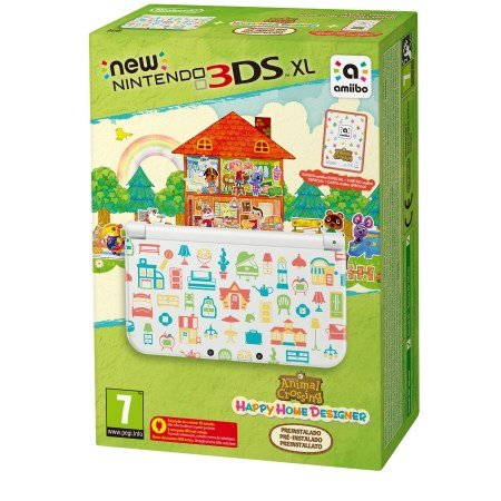 Nintendo Console 3DS XL - New 3DS XL+Animal Crossing Happy Home Designer