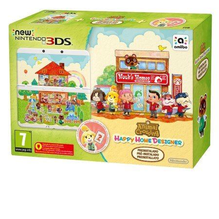 Nintendo - New 3DS +Animal Crossing: Happy Home Designer