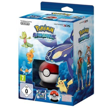 Nintendo - Pokemon Zaffiro Alpha Starter Box 3DS