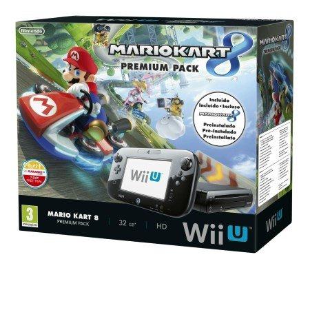 Nintendo Console di gioco Wii U - WiiU Mario Kart 8 Premium Pack 2301149