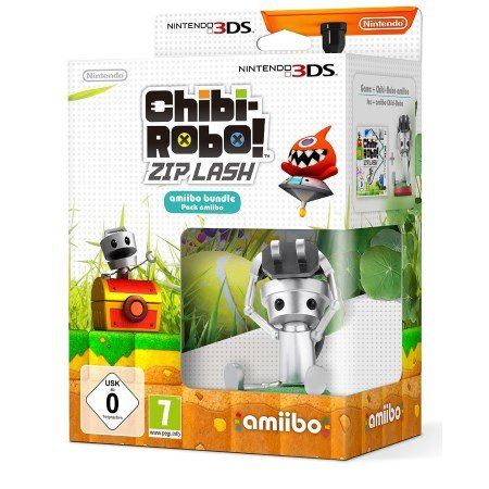 Nintendo Bundle Amiibo Chibi-Robo Pack + Chibi Robo! Zip Lash - Chibi-robo! Zip Lash +Amiibo 3DS