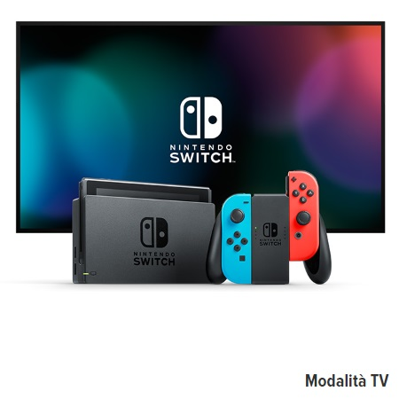 Nintendo Console Switch 3-in-1 - Switch Neon Red&Blue