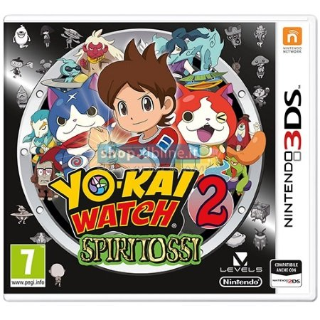 Nintendo Yo-Kai Watch 2: Spiritossi - Yo-Kai Watch 2: Spiritossi - 3DS
