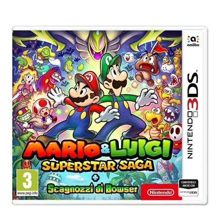 Nintendo - Mario e Luigi: Super Star Saga + Bowser