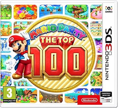 Nintendo 3DS - Mario Party the Top 100