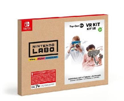Nintendo Nintendo Labo: Kit VR è una prima esperienza VR unica che bambini e famiglie possono costruire insieme. - 10001805