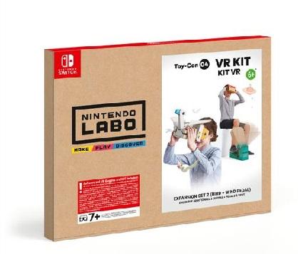 Nintendo Nintendo Labo: Kit VR è una prima esperienza VR unica che bambini e famiglie possono costruire insieme. - 10001806