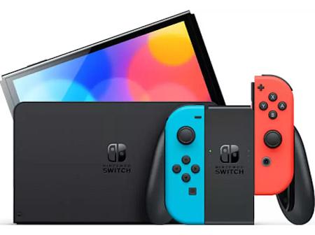 Console Nintendo Switch Oled Black Capacità memoria: 64 GB