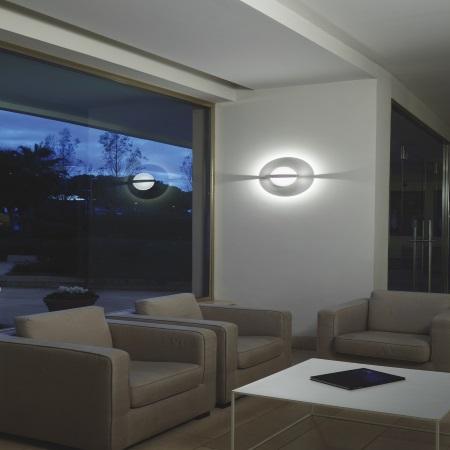 Nobile Lampada da parete - Parete/soffitto Bianco D.28 Bianco