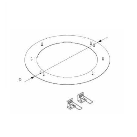 Novalux   - Kit adattatore per SLIM TONDO 20W - 11814.01