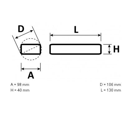 Novalux  S.p.a. Alimentatore per strisce led - 18602.99 Alimentatore 75W 24vdc
