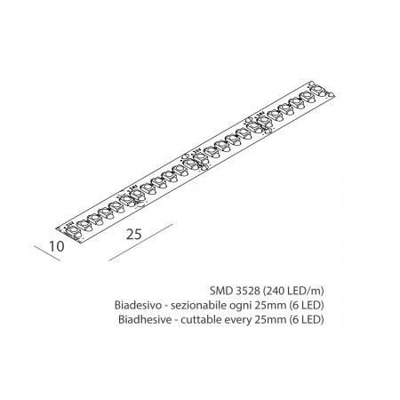Novalux 100904.99 Striscia led 22W/m 4K 1750 Lm/m