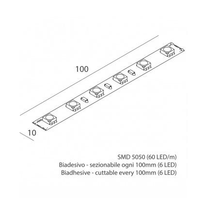 Novalux 100901.99 Striscia led 16,5W/m 3K 1400 Lm/m