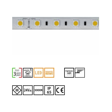 Novalux  S.p.a. - 102603.99 strip led 14,4w/m 3000°k IP65